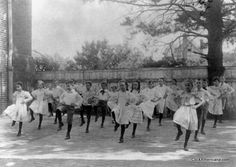 Washington, D.C. school exercise, 1899