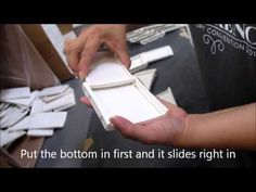 How to assemble a Stampin' Up! Ink Pad
