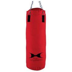Boxsack Fit, rot, 60 cm (gefüllt)