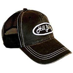HillBilly Brand: Black on Black Outlaw Trucker Hat