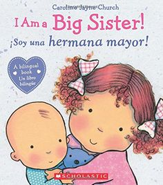 Share the joys of becoming a big sister!With the arrival of a new baby comes many transitions, and big sisters may need a little extra tender loving care to adjust to a new family situation. This sweet story with adorable toddler illustrations by . Big Sister Bag, Big Sister Books, Sisters Book, Big Sister Gifts, Big Sisters, Positive Verstärkung, Mighty Girl, Waiting For Baby, New Sibling