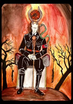 King of Pentacles - Heydrich Tarot by Hello Heydi