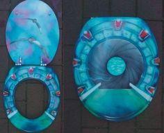 Stargate toilet seat