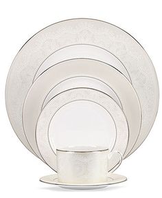 kate spade new york Dinnerware, Chapel Hill Collection - Fine China - Dining & Entertaining - Macy's Bridal and Wedding Registry