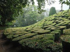 Gardens, Chateau de Breteuil, Chevreuse, France.