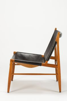 Franz Xaver Lutz; Chimney Chair for WK Verband, 1958/1959.
