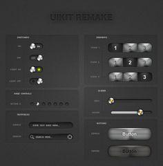 50 Free Web UI, Mobile UI, Wireframe Kits