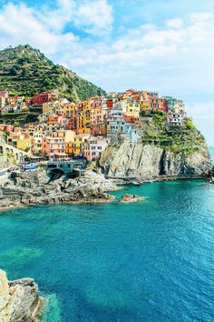 Manarola, Cinque Terre, from 23 Amazing Places You Must Include On Your Italian Road Trip - Hand Luggage Only - Travel, Food & Home Blog