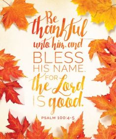 Thankful Unto Him (Psalm Bulletins, 100