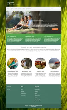 JMJSD idea - Simple, but effective. Wordpress Template, Wordpress Theme, Free Html Website Templates, Photography Website Templates, Smart Web, Web Design Projects, Best Web Design, Ui Web, Web Design Inspiration