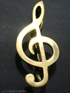 SOLID BRASS MUSIC NOTE MUSICAL DOOR KNOCKER