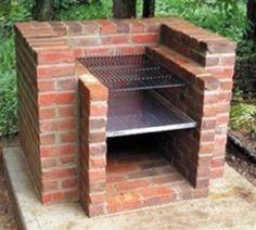 Build an outdoor BBQ.