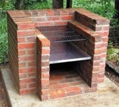 Build an outdoor BBQ.