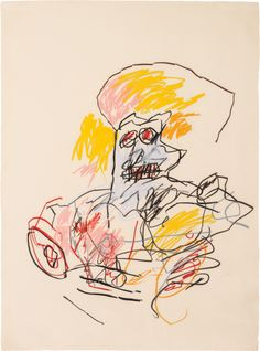 PHILLIPS : NY010713, Jean-Michel BasquiatMore Pins Like This At FOSTERGINGER @ Pinterest