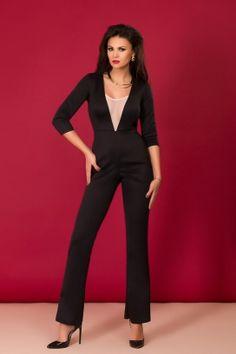 Salopete elegante de dama Outfits, Image, Dresses, Fashion, Lady, Elegant, Tricot, Outfit, Moda