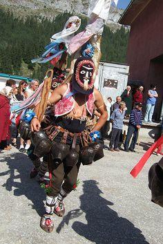 Kukeri Dancer at Trigrad