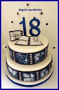 Torta per i 18 anni Torta per i 18 anni - . Cake for 18 years Cake for 18 18th Birthday Cake For Guys, Birthday Sheet Cakes, Birthday Cakes For Men, Birthday Cookies, Cakes For Boys, Cake Pops Frosting, Gluten Free Birthday Cake, Rodjendanske Torte, 18th Cake