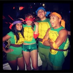 The Best Coed Group Halloween Costumes for 2014 | Her Campus