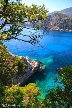 Blue & Green, Liapades, Corfu by Bill Metallinos on 500px