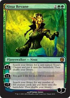 Magic: the Gathering - Nissa Revane - Unique & Misc. Promos - Foil by Wizards of the Coast. $15.49. A single individual card from the Magic: the Gathering (MTG) trading and collectible card game (TCG/CCG).. This is of Promo rarity.. From the Unique & Misc. Promos set.. You will receive the Foil version of this card.. Magic: the Gathering is a collectible card game created by Richard Garfield. In Magic, you play the role of a planeswalker who fights other planeswalkers for gl...