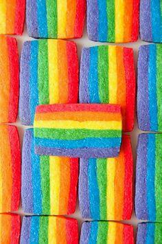 Rainbow Candy http://brilliantideasoldandnew.blogspot.com/