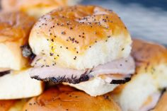 Dinners Under $10: Buttery Ham and Cheese Rolls