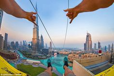 Downtown Dubai has become a destination for Zip-line enthusiasts after launching the XLine earlier this month