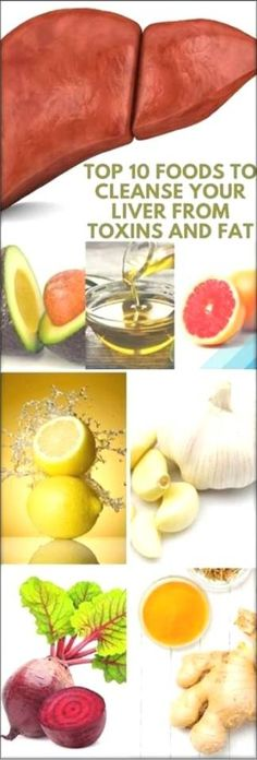 Top 10 Foods To Cleanse Your Liver From Toxins And Fat
