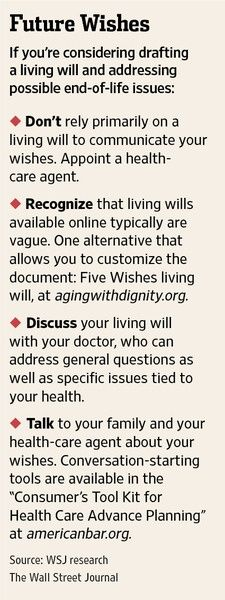 These critical documents about your preferences for end-of-life care don't always work as planned. More flexibility might be the answer.  #ProbateLaw