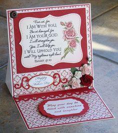 Rosebud Crafts: Mother's Day card #1