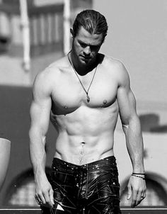 Chris Hemsworth. Dear Lord!  and to think I thought he wasn't good looking in Thor! LOL!