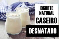 Iogurte Desnatado Caseiro