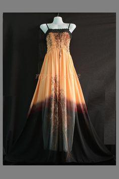 Peach Maxi Dress Bridesmaid Dress Women Plus Size Prom Long Evening Beach Party Secret of Lady Collection
