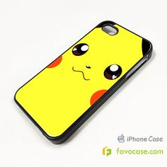 POKEMON 2 Pocket Monsters Pikachu iPhone 4/4S 5/5S 5C Case Cover