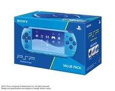 SONY PSP Playstation Portable Console JAPAN MODEL PSP-3000 Piano Marine Blue Value Pack | PSPJ-30027 (Japan Import) Your #1 Source for Video Games, Consoles & Accessories! Multicitygames.com