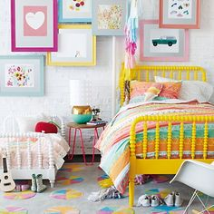 twin and toddler bed