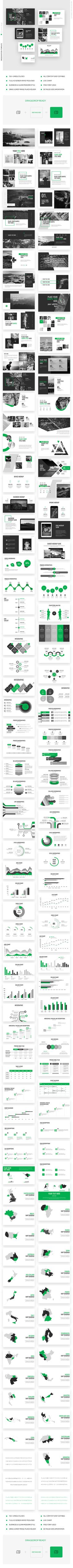 Startup Green  Trend Powerpoint Template #multipurpose #ecommerce • Download ➝ https://graphicriver.net/item/startup-green-trend-powerpoint-template/21285081?ref=pxcr