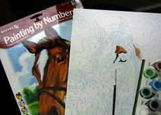 Painting by Numbers - how to and tips