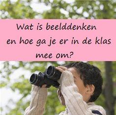 Beelddenken - KlasvanjufLinda.nl - vol met leuke lesideeën en lesidee