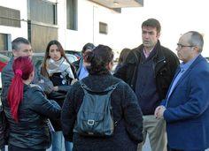 Granada (Motril)Joaquín Bellido, coordinador nacional de Andalucía por sí (AxSí), acompañado de Ángel Ortega, coordinador territorial en la provincia de Granada, y David Martín, miembro de la Coordinadora Nacional AxSí, mantuvo ayer un encuentro con representantes del Comité de Empresa y trabajadoras de Mercomotril