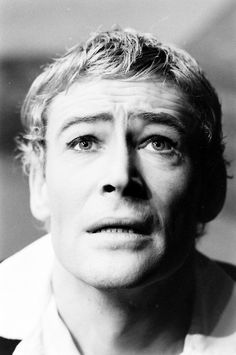 Peter O'Toole as Hamlet, 1963. Photo by Ralph Crane for LIFE.