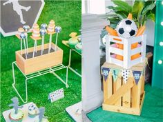 Clarkie's Soccer Themed Party – Sweet treats Party Themes, Party Ideas, Soccer Birthday, Football Themes, Sweet Treats, Home Decor, Football Birthday, Sweets, Decoration Home