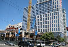 #Swinerton's very own Trinity Place Phase II taken by #Flickr user Apollo's Light. #Crane #Trinity #SanFrancisco #BuildingForward
