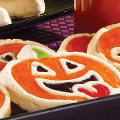Jolly Jack-o-Lantern Cookies