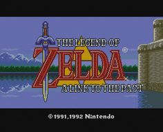 The Legend of Zelda: Link to the Past Title Screen by PixelComfort