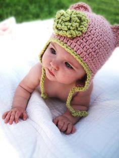 Organic Baby Hat.