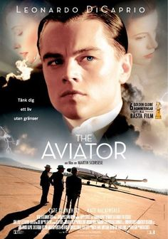Leonardo Di Caprio in 'The Aviator', 2004 - '40's Retro costumes designed by Sandy Powell winning an Academy Award for her work on Scorsese's film.