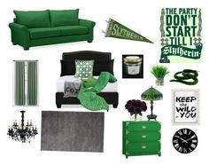 Designer Clothes, Shoes & Bags for Women Bedroom Themes, Bedrooms, Bedroom Decor, Slytherin, Inside A House, Harry Potter Bedroom, Bungalow 5, Interior Decorating, Interior Design