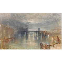 Lucerne by moonlight, Joseph Mallord William Turner