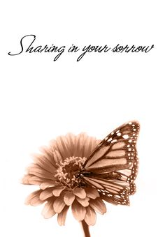 Free Printable Sharing In Your Sorrow Greeting Card